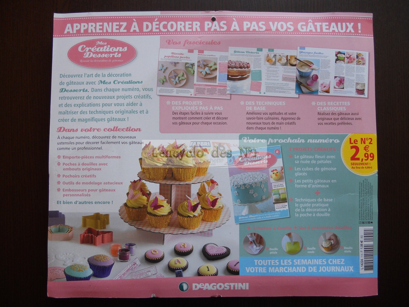 N° 1 Mes créations desserts - Test - DeAgostini - Mars 2012 Mod_html215849_4f68f3622028c