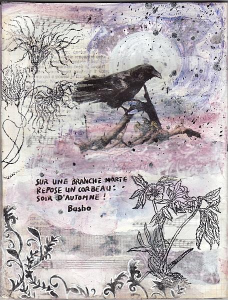Art Journal des poèmes - Haïku d'automne (1)