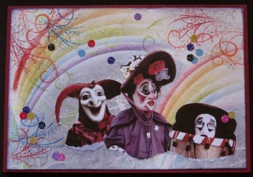Cartes Carnaval, Halloween,...