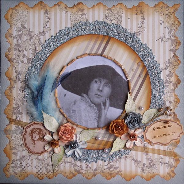 Geand-maman au chapeau