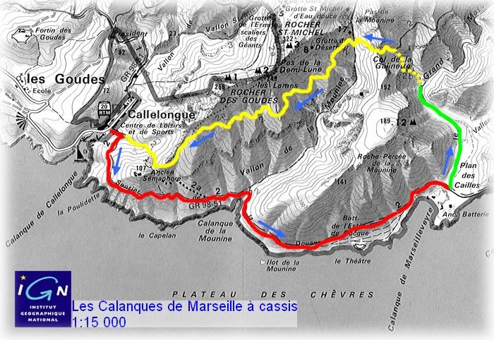 Bouches du Rhône - Marseilleveyre