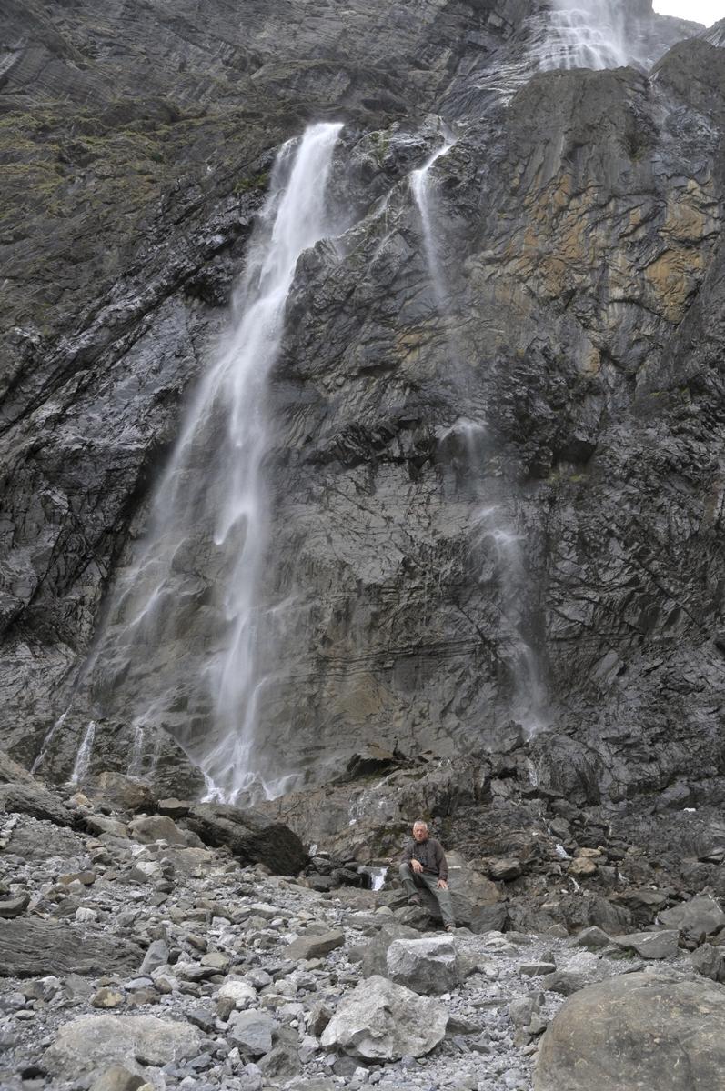 Raymond à la cascade de Gavarnie