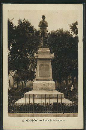 Le poilu du monument