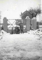 1953 (3 février) - La neige à Mondovi.
