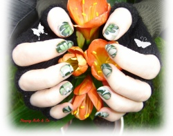 """Giveaway de Lulline - On se met au """"Vert"""""""