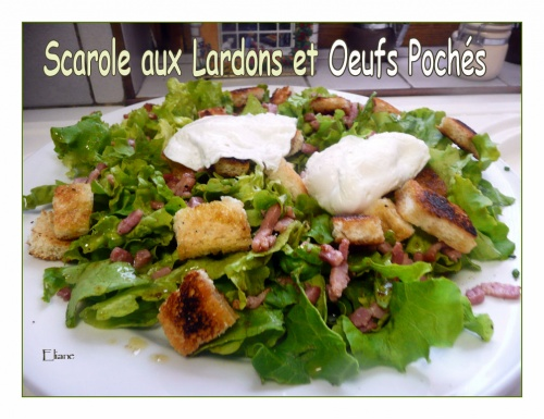 Scarolle aux Lardons