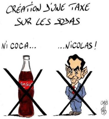 Une taxe sur les sodas pour ne pas taxer le caviar