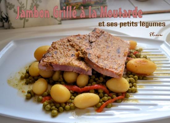 Jambon Grillé à la Moutarde