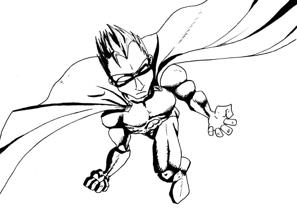Dessin de super hero - Dessin super hero ...