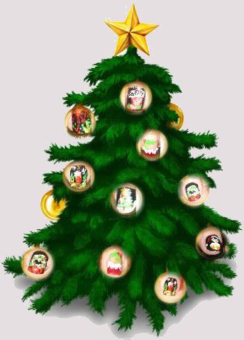 Noël  SophyNails inspirée par Robin Moses