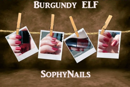 Burgundy ELF