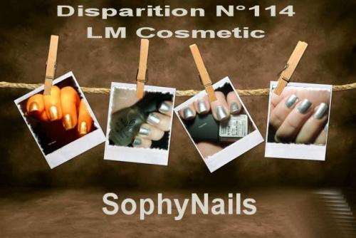 Disparition LM COSMETIC N°114