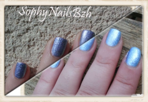 Super Hero DEL SOL + Top Coat China Glaze Fast Forward