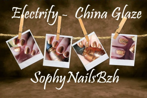 Electrify  - China Glaze - Collection HUNGER GAMES