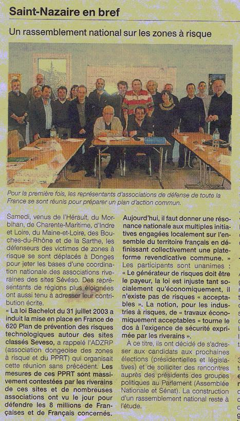 Coordination nationale des associations riveraines des sites SEVESO