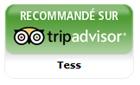 Recommandée sur TripAdvisor