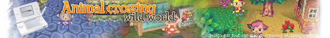 Astuces animal crossing wild world - Accueil
