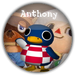 Antony pin's tout sur animal crossing