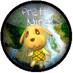 Pin's Pretty nina tout sur animal crossing