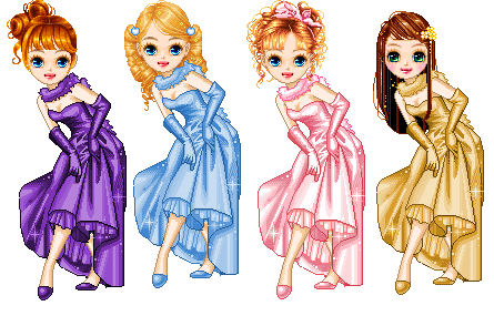 dollz couleurs ++
